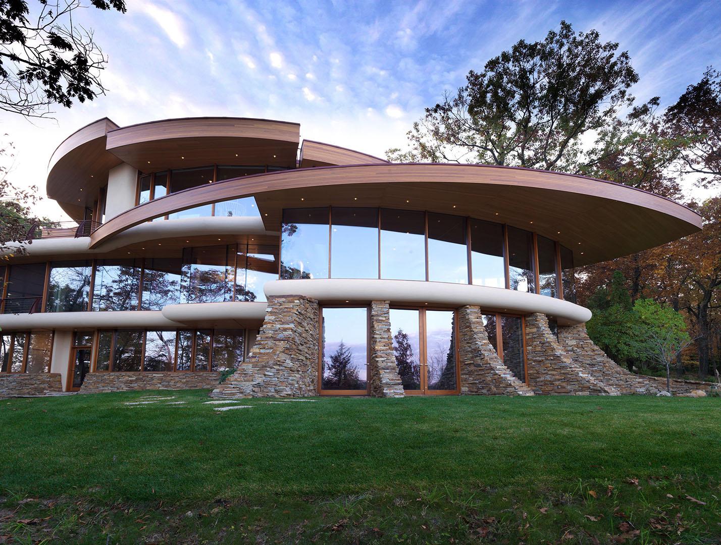 robert oshatz architect – wisconsin residence -